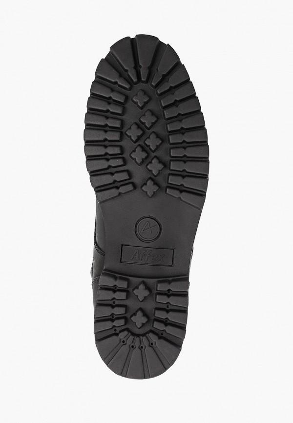 Фото 5 - мужские ботинки и полуботинки Affex черного цвета