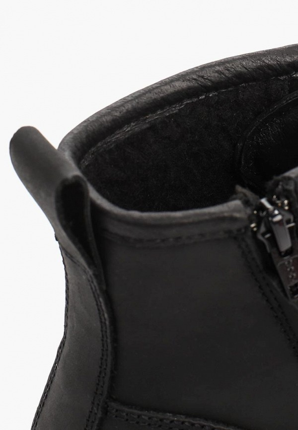 Фото 6 - мужские ботинки и полуботинки Affex черного цвета