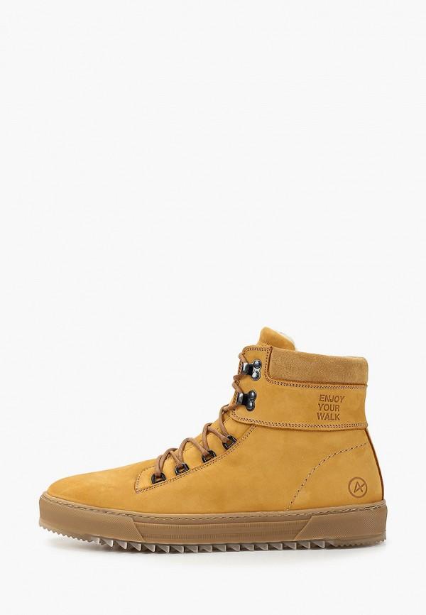 мужские ботинки affex, бежевые
