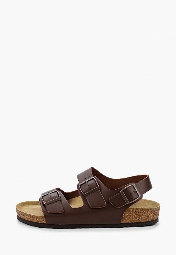 мужские сандалии affex, коричневые