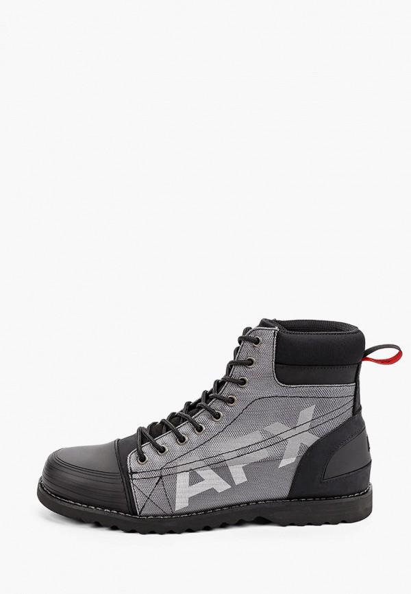 мужские ботинки affex, серые