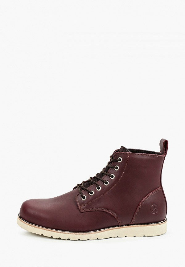 мужские ботинки affex, бордовые