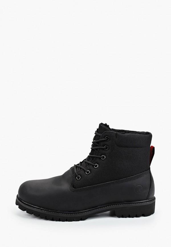 мужские ботинки affex, черные