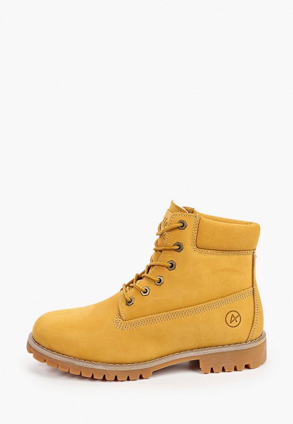 женские ботинки affex, желтые