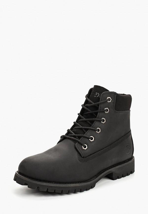 Купить Ботинки Affex, af003awbvsu4, черный, Осень-зима 2018/2019