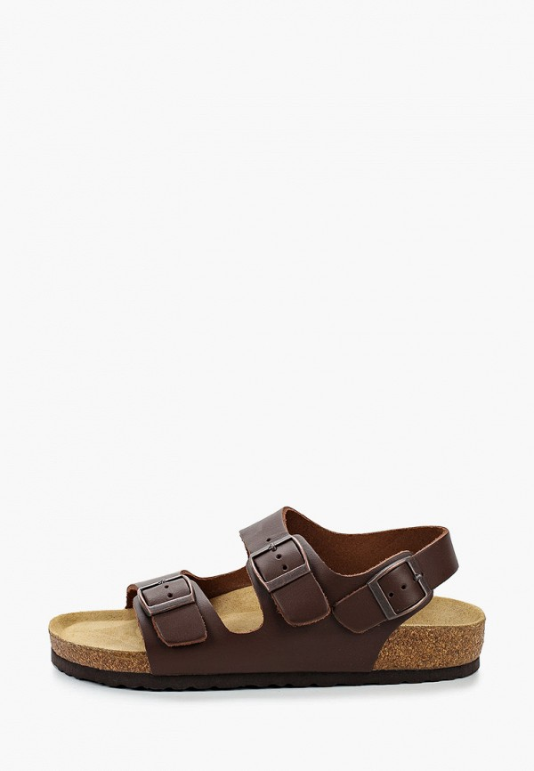 женские сандалии affex, коричневые