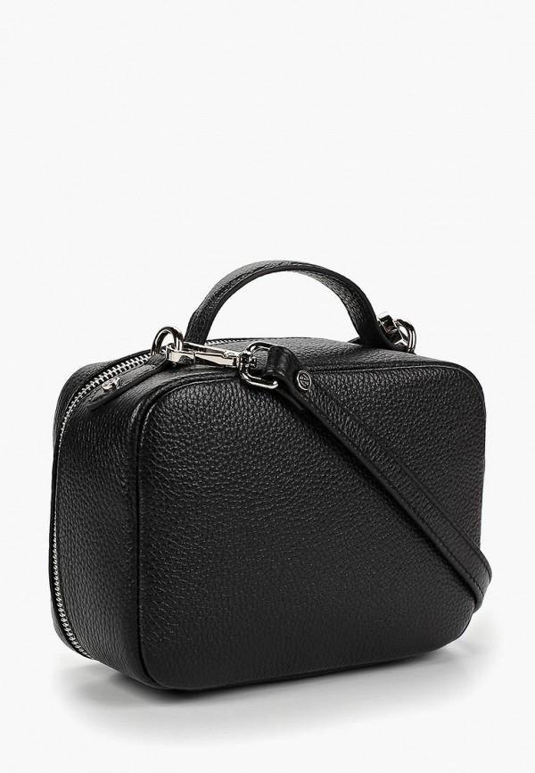 Фото 2 - женскую сумку Afina черного цвета