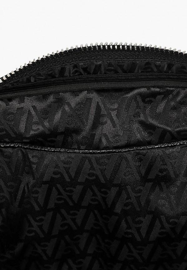 Фото 3 - женскую сумку Afina черного цвета