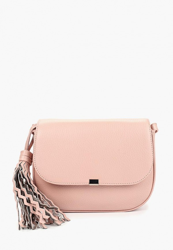 женская сумка afina, розовая
