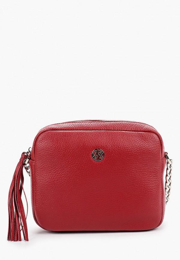 Купить Женскую сумку Afina красного цвета