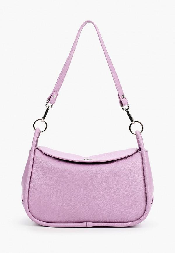 женская сумка afina, фиолетовая