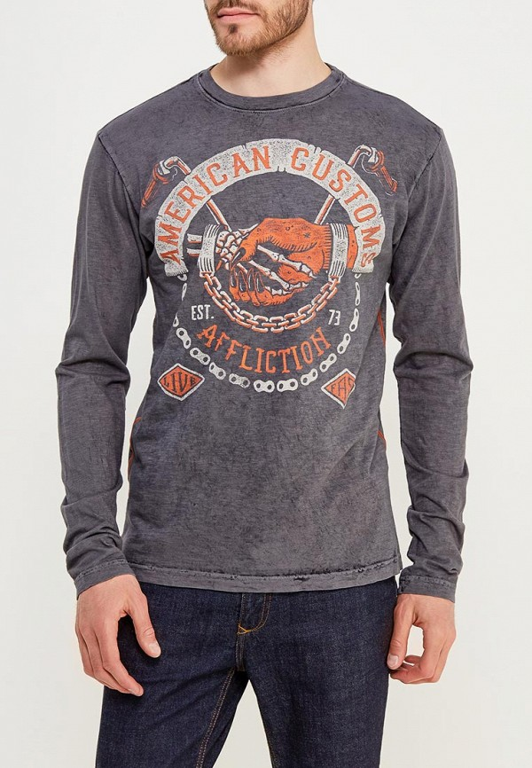 Лонгслив Affliction Affliction AF405EMAOJX7 бейсболка affliction affliction af405cuaojw1