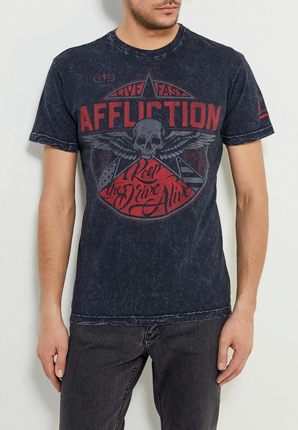 Футболка Affliction Affliction AF405EMAOJZ4 бейсболка affliction affliction af405cuaojw1