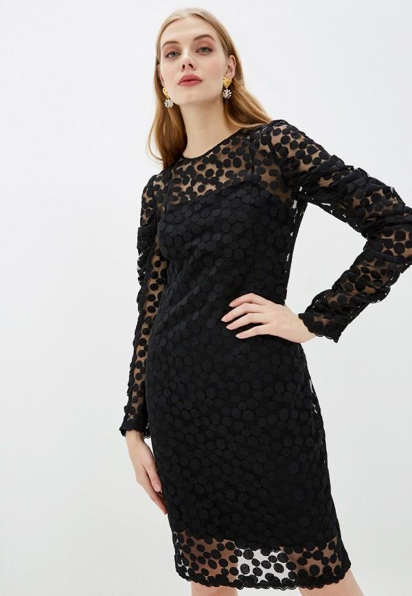 женское повседневные платье akris punto, черное