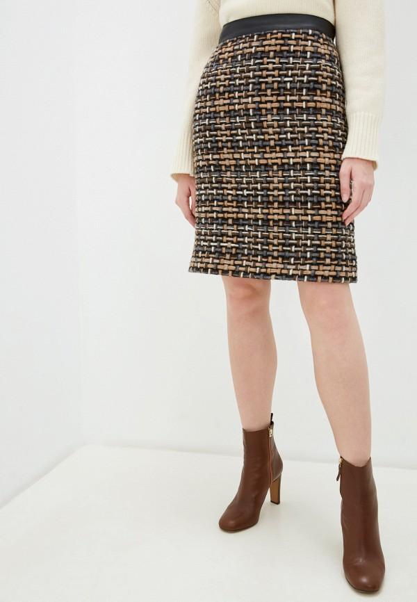 женская прямые юбка akris punto, разноцветная