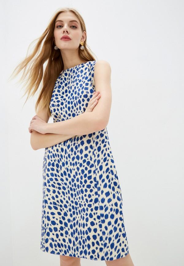 женское повседневные платье akris punto, белое