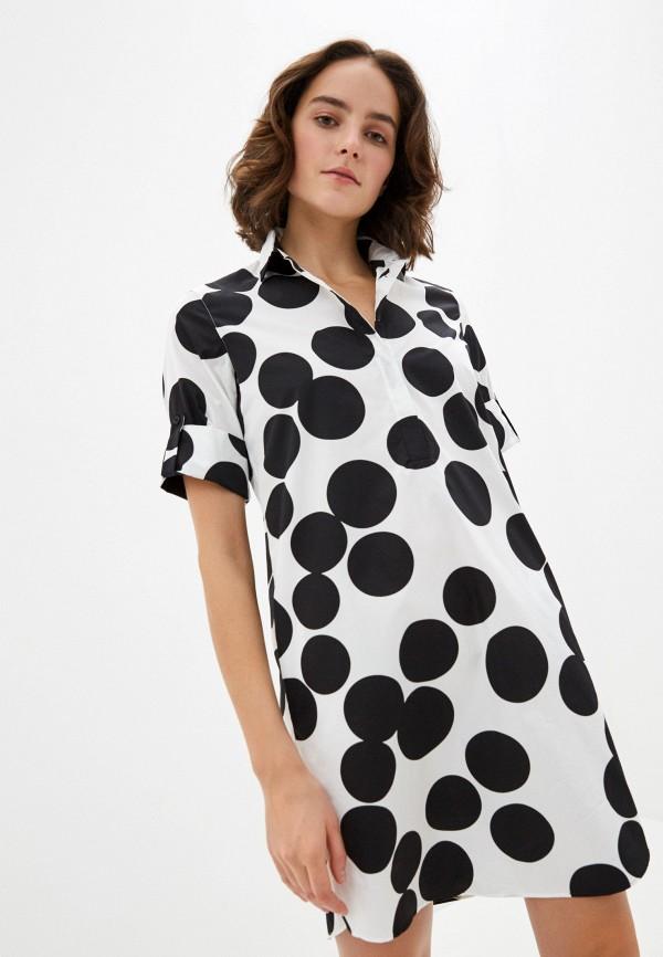 женское платье akris punto, белое