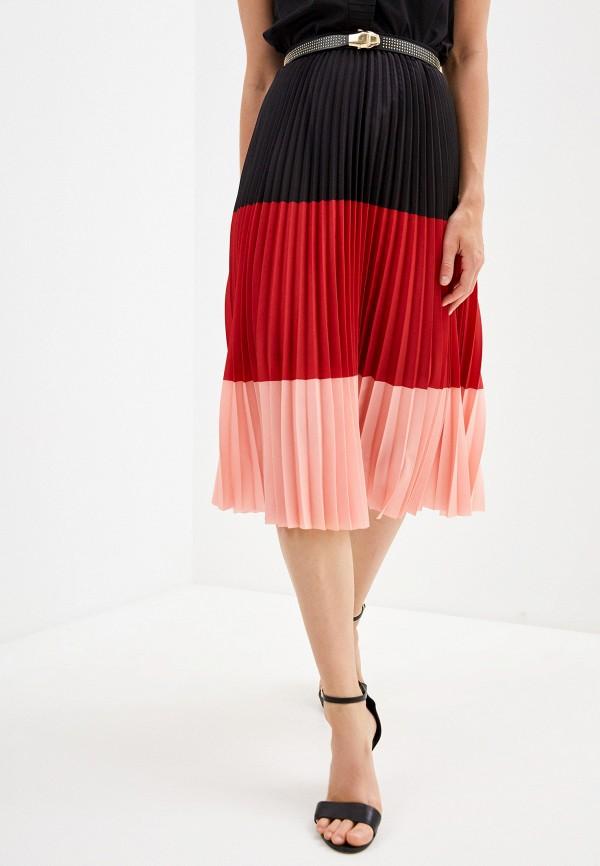 женская юбка akris punto, разноцветная