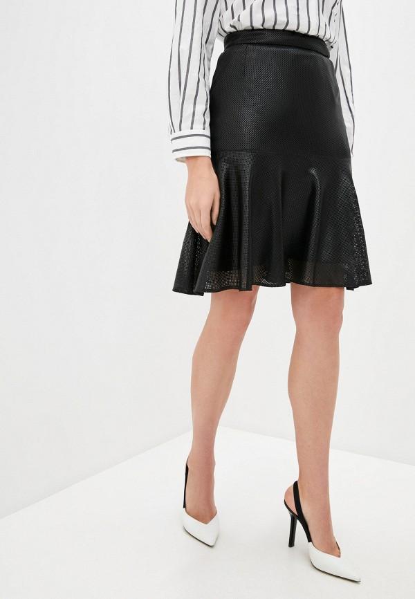 женская юбка akris punto, черная