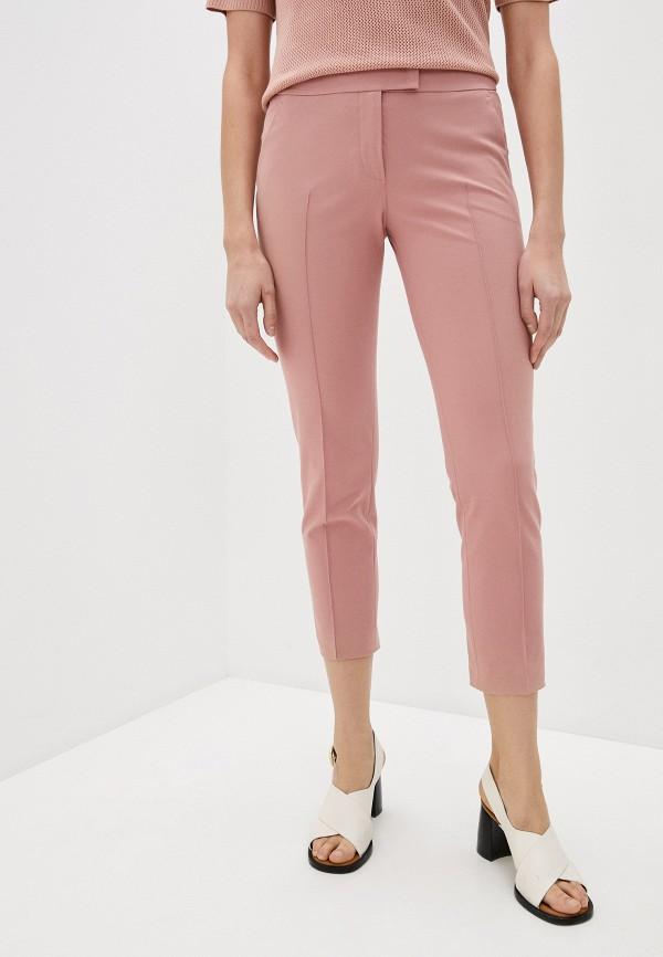 женские повседневные брюки akris punto, розовые