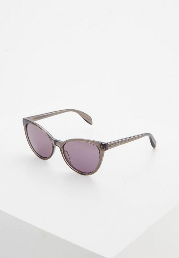 Очки солнцезащитные Alexander McQueen Alexander McQueen AL001DWZHT32 стоимость
