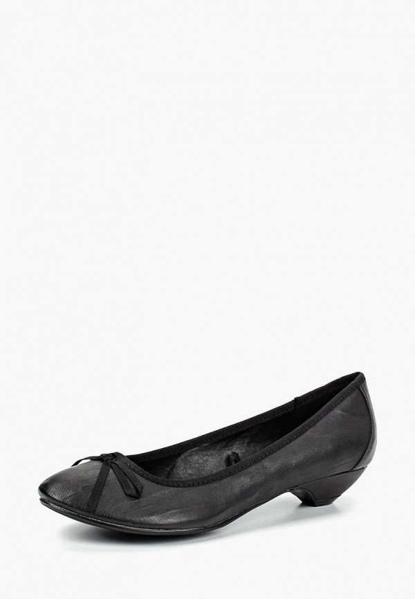 женские балетки alcott, черные