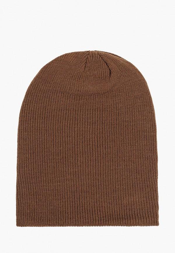 мужская шапка alcott, коричневая