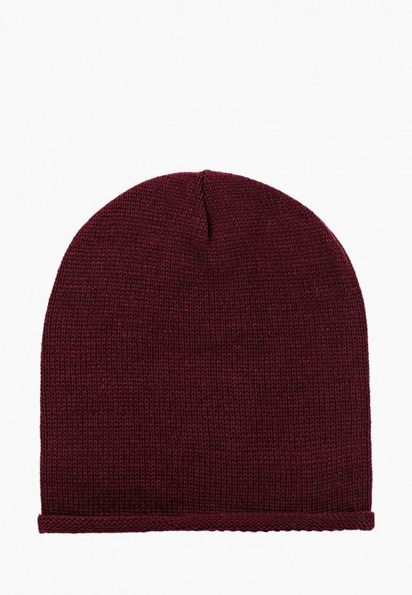 мужская шапка alcott, бордовая