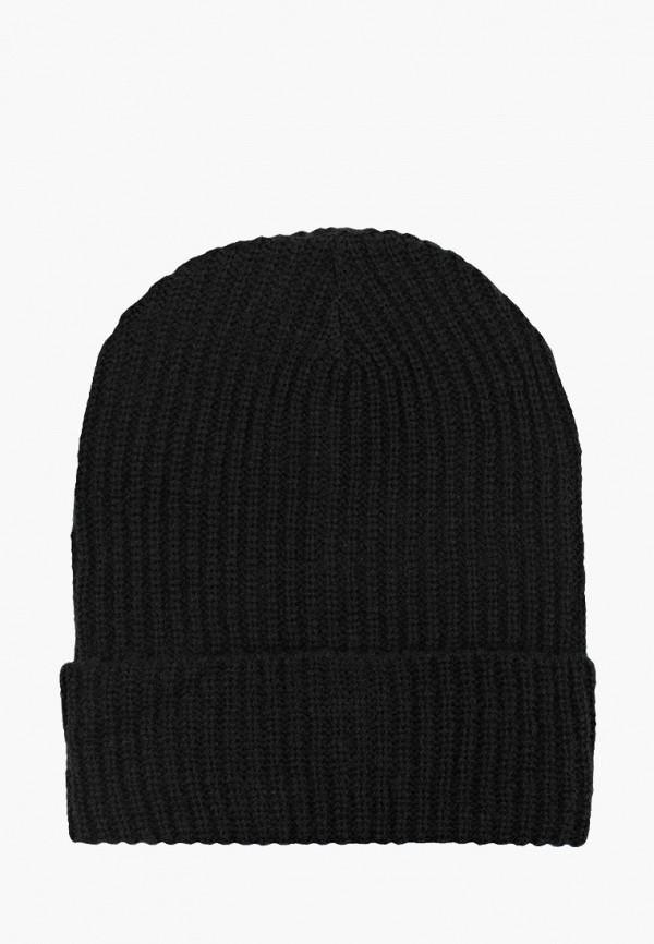 женская шапка alcott, черная