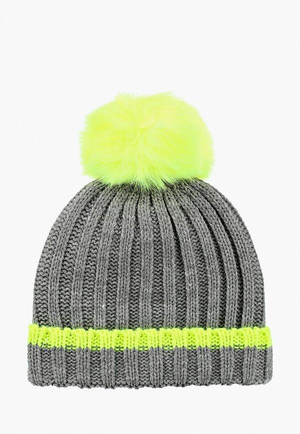 женская шапка alcott, серая