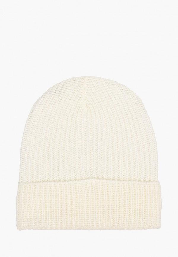 женская шапка alcott, белая