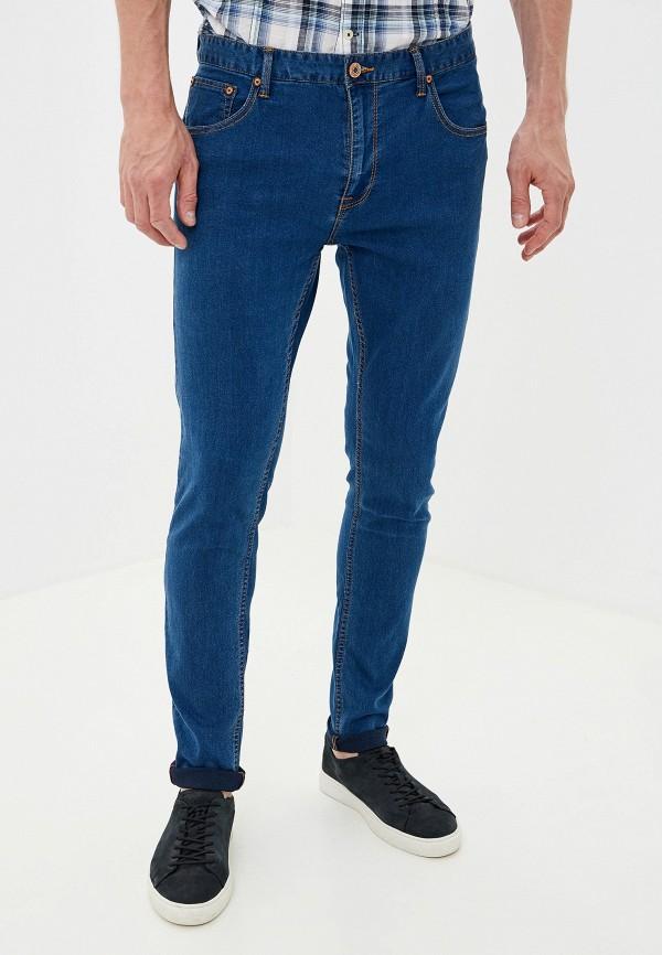 мужские зауженные джинсы alcott, синие