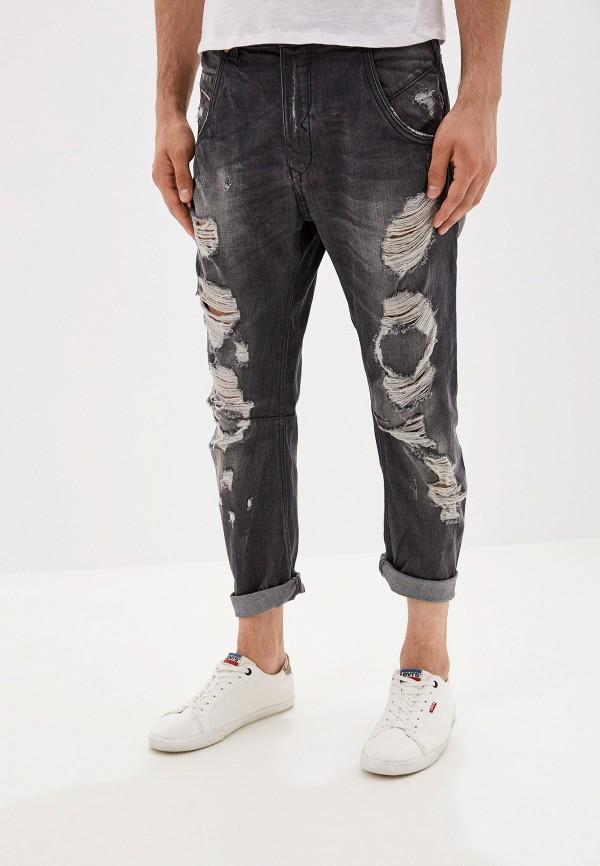 мужские зауженные джинсы alcott, серые