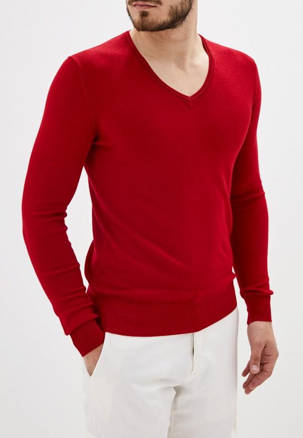 Фото - Мужской пуловер Alcott красного цвета