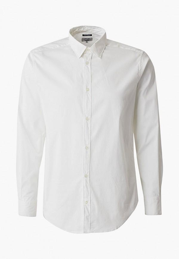 мужская рубашка с длинным рукавом alcott, белая