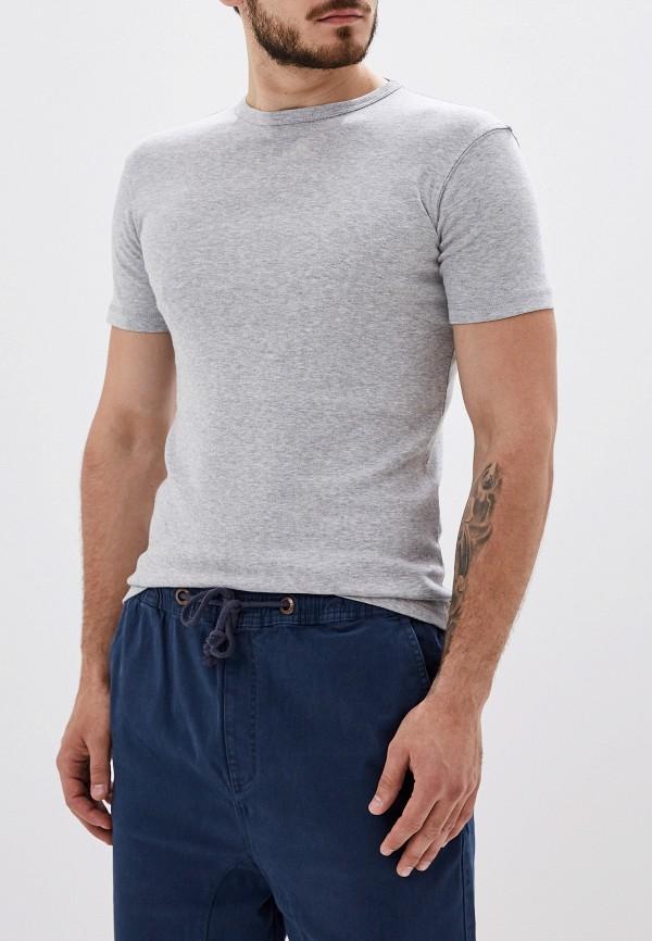 мужская футболка с коротким рукавом alcott, серая