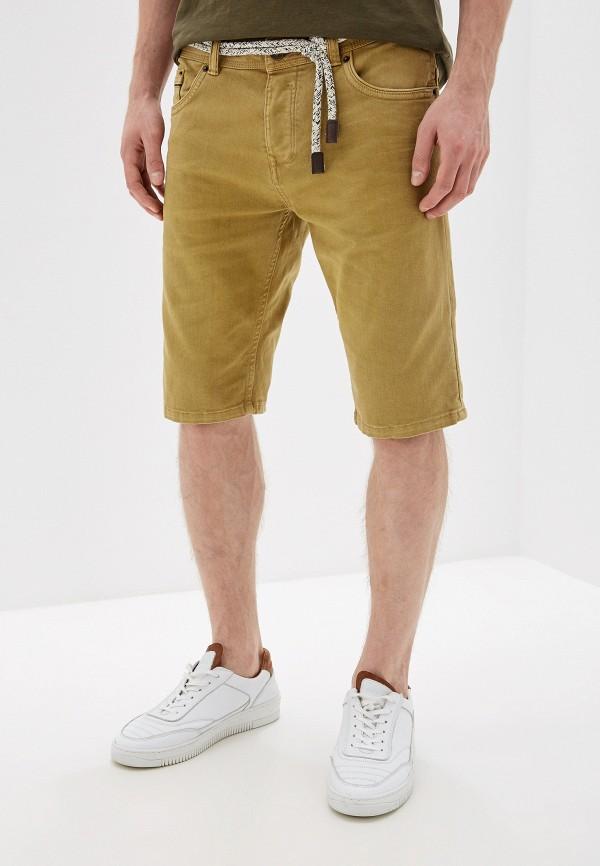 мужские повседневные шорты alcott, коричневые