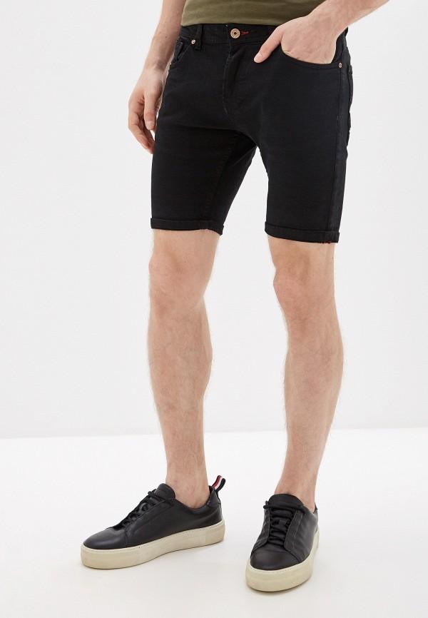 мужские джинсовые шорты alcott, черные