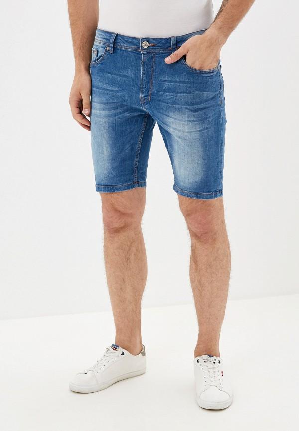 мужские джинсовые шорты alcott, голубые