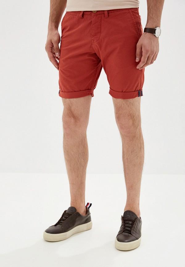 мужские повседневные шорты alcott, оранжевые