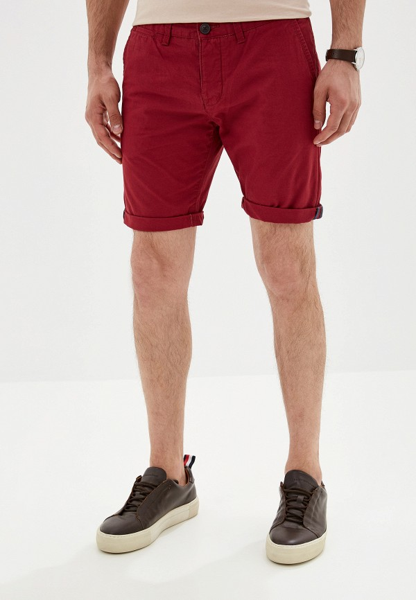 мужские повседневные шорты alcott, бордовые