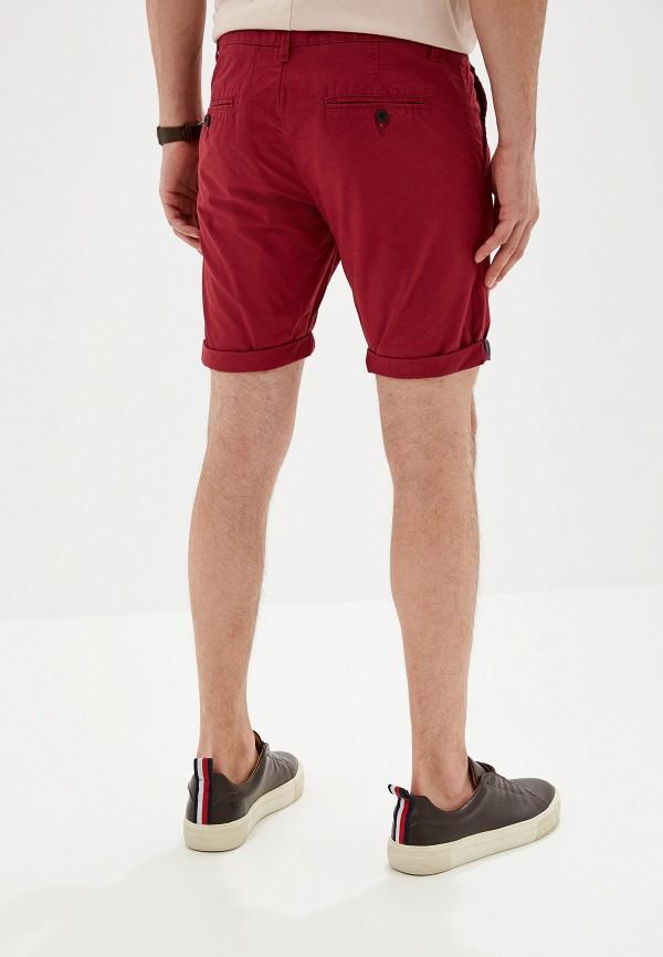 Фото 3 - Мужские шорты Alcott бордового цвета