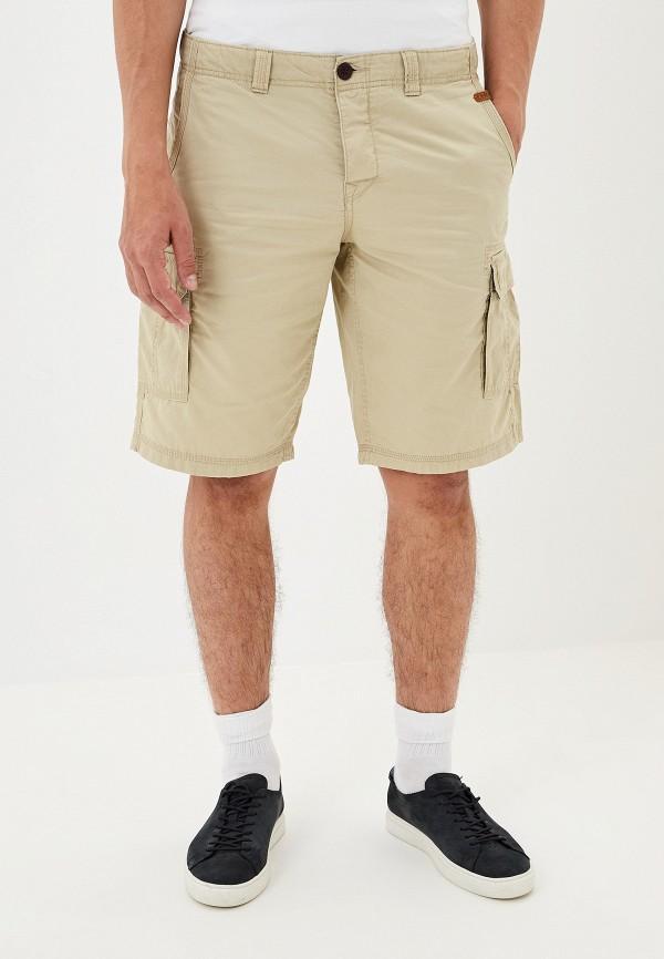 мужские повседневные шорты alcott, бежевые