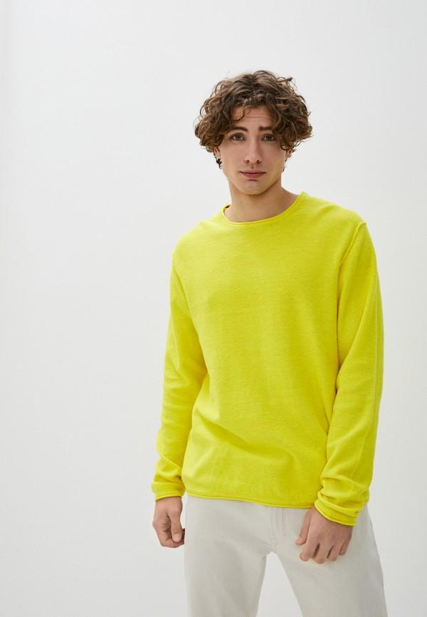 мужской джемпер alcott, желтый