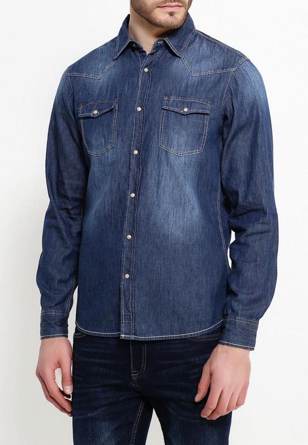 Рубашка джинсовая Alcott Alcott AL006EMIHN68 парка alcott alcott al006ewwbj85