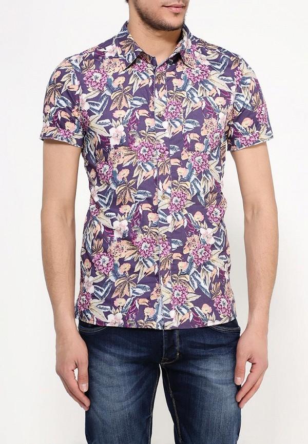 мужская рубашка с коротким рукавом alcott, разноцветная