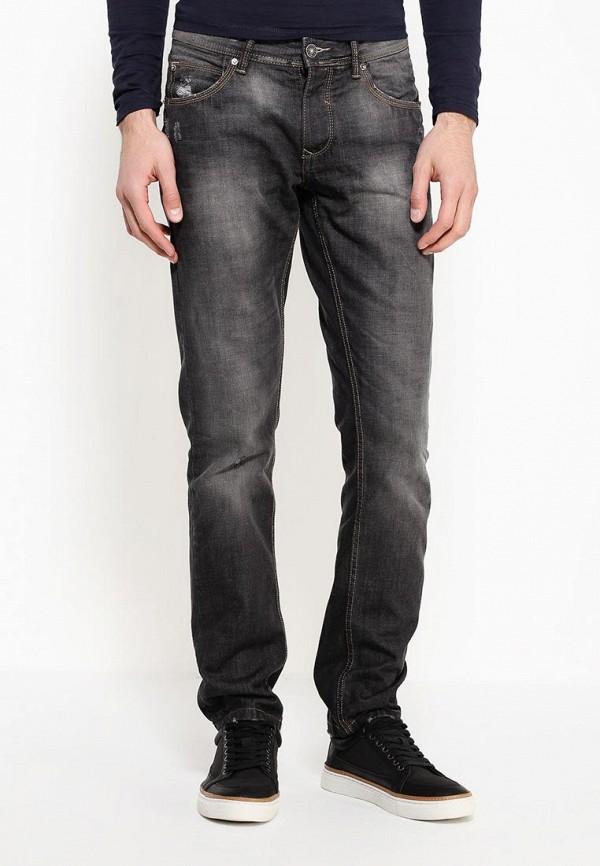 мужские прямые джинсы alcott, черные