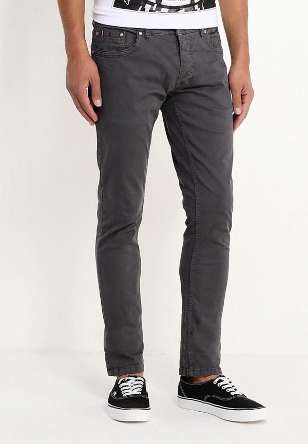 мужские зауженные брюки alcott, серые