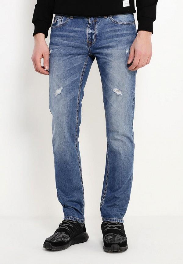 мужские зауженные джинсы alcott, голубые