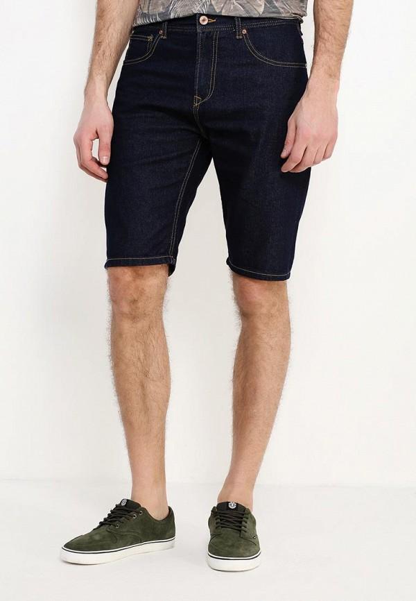 мужские джинсовые шорты alcott, синие